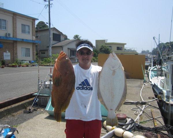釣り船幸盛丸  2018/07/18「水」釣果
