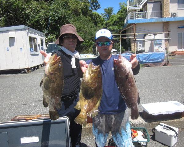 釣り船幸盛丸  2018/08/13「月」釣果