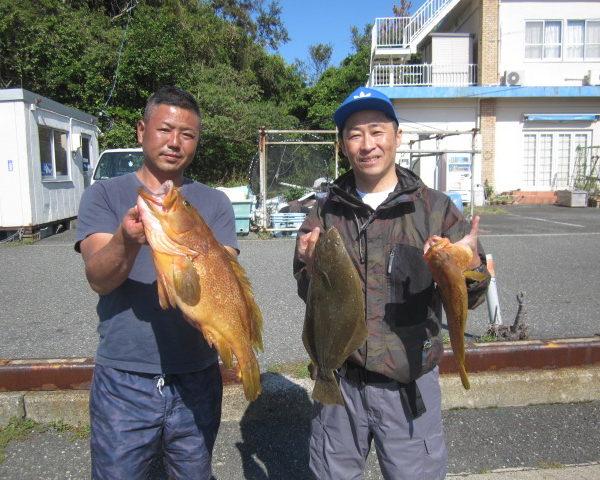釣り船幸盛丸  2018/09/19「水釣果