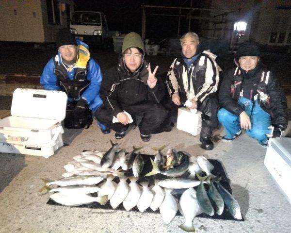 2018/12/15 幸盛丸釣果