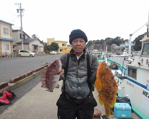 2019/02/11「月」 幸盛丸釣果