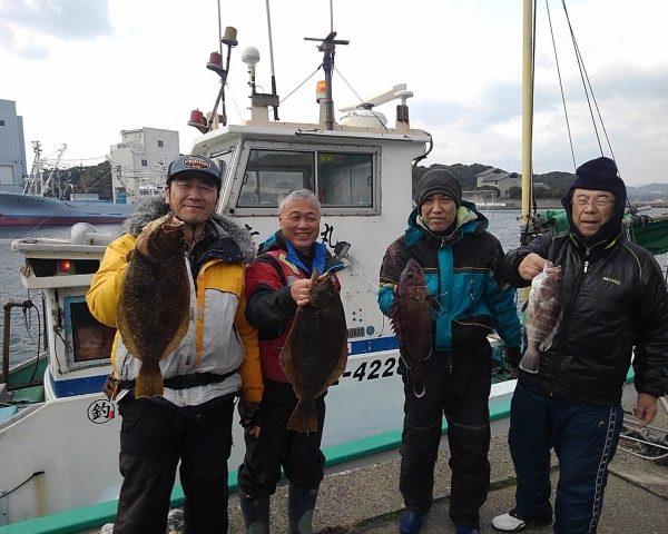 釣り船幸盛丸  2019/02/16「土」釣果
