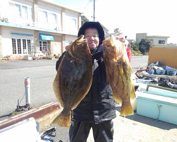 釣り船幸盛丸  2019/02/23「土」釣果