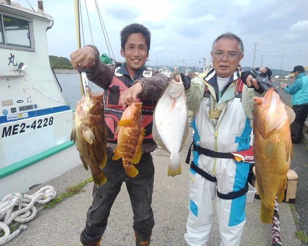 釣り船幸盛丸  2019/05/06「月」釣果