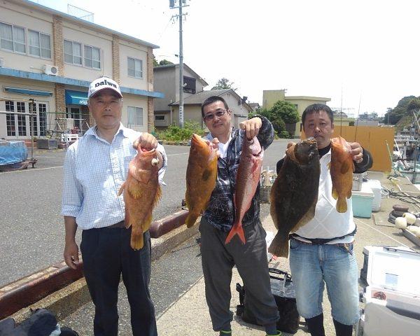 釣り船幸盛丸  2019/06/01「土」釣果