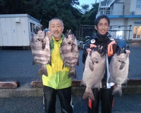 釣り船幸盛丸  2019/07/15「月」釣果