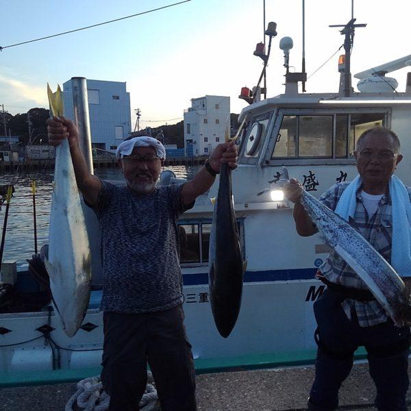 釣り船幸盛丸  2019/08/12「月」釣果