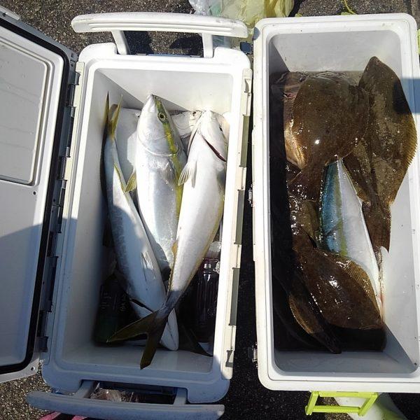 釣り船幸盛丸  2019/09/11「水」釣果
