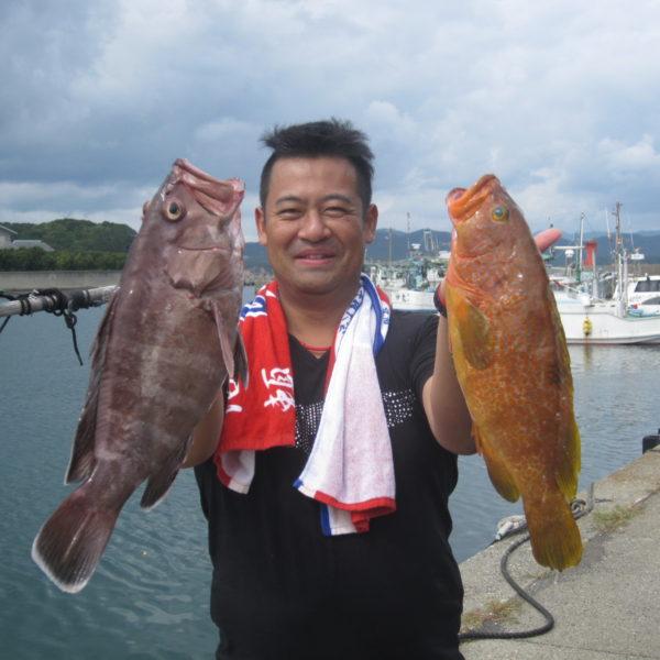 釣り船幸盛丸  2019/10/02「水」釣果