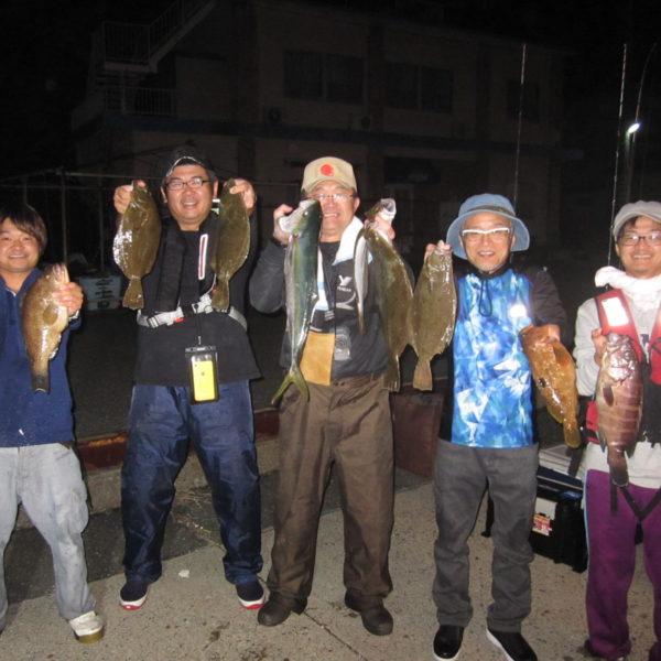 釣り船幸盛丸  2019/10/25「金」
