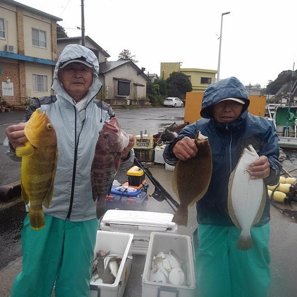 釣り船幸盛丸 釣果  2019/10/29「火」