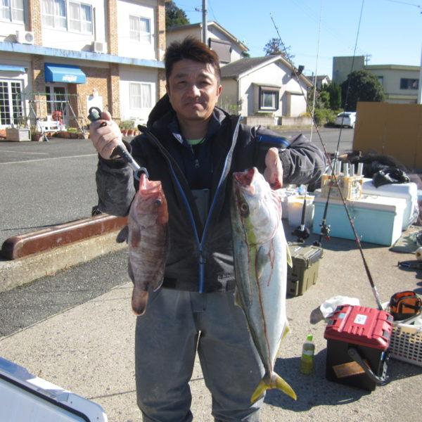 釣り船幸盛丸 釣果  2019/11/29「金」
