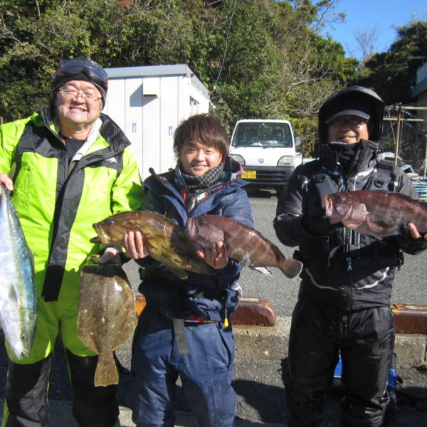 釣り船幸盛丸 釣果  2019/12/08「日」