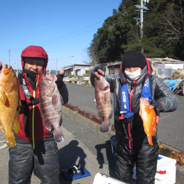 釣り船幸盛丸 釣果  2019/12/15「日」