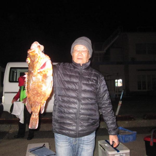 釣り船幸盛丸 釣果  2019/12/28「土」