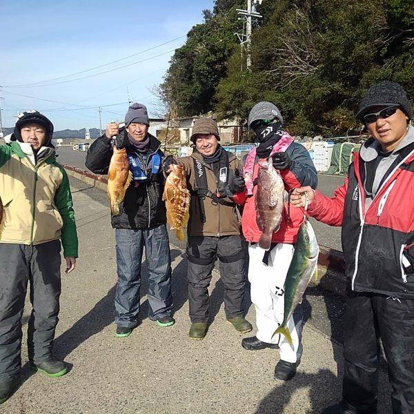 釣り船幸盛丸 釣果  2019/12/24「火」