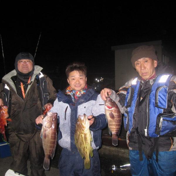 釣り船幸盛丸 釣果  2020/01/26「日」