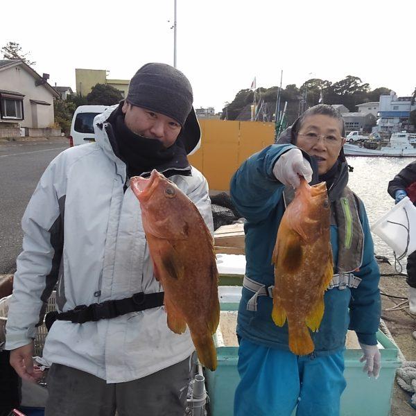 釣り船幸盛丸 釣果  2020/01/11「土」