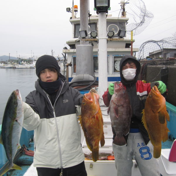釣り船幸盛丸 釣果  2020/02/14「金」