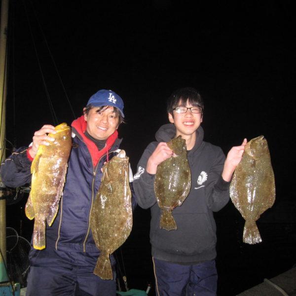 釣り船幸盛丸 釣果 2020/02/24 (月)