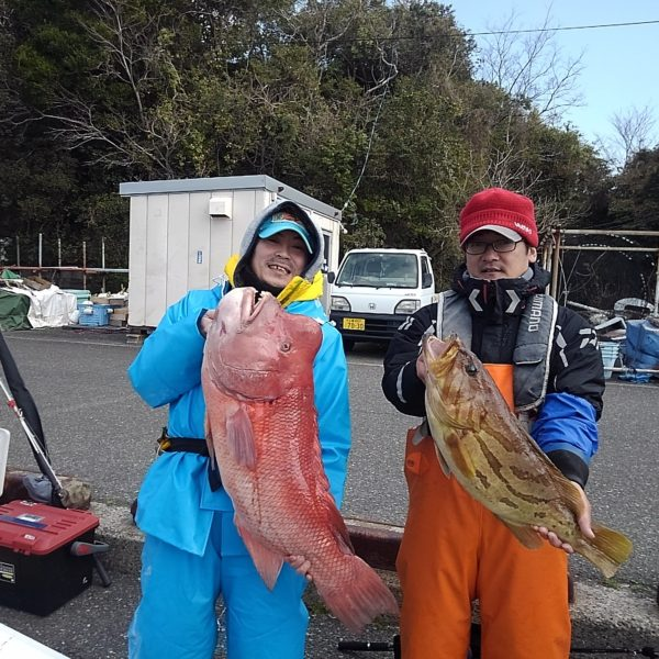 釣り船幸盛丸 釣果  2020/02/08「土」
