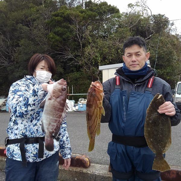釣り船幸盛丸 釣果 2020/02/25 (火)
