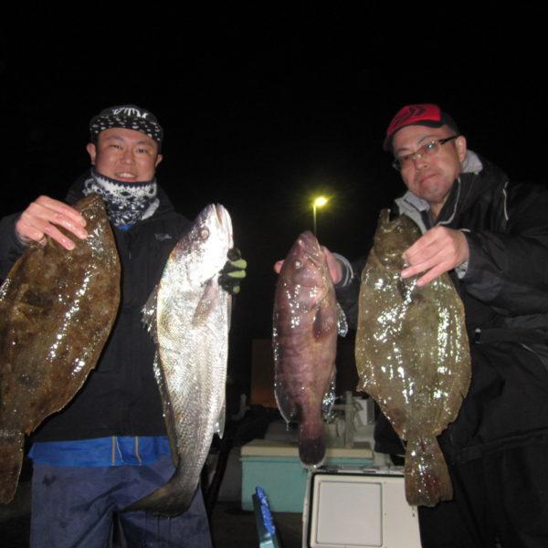 釣り船幸盛丸 釣果 2020/03/21「土」