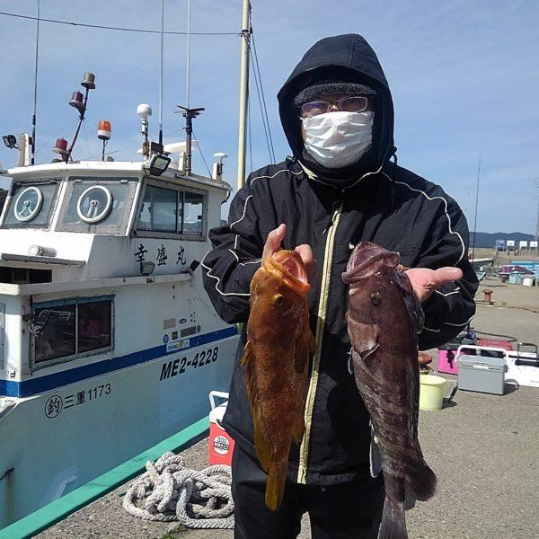 釣り船幸盛丸 釣果 2020/03/01「日」