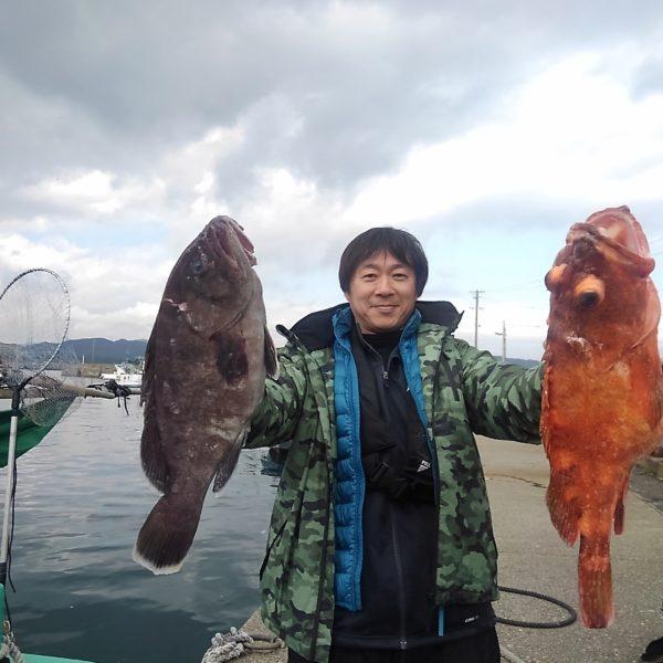 釣り船幸盛丸 釣果 2020/03/02 「月」
