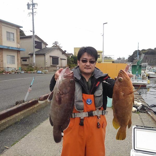 釣り船幸盛丸 釣果 2020/03/04「水」