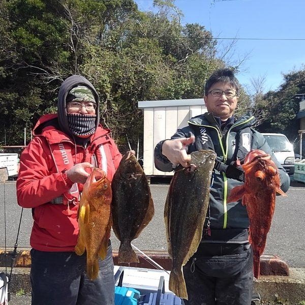 釣り船幸盛丸 釣果 2020/03/07「土」