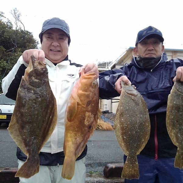 釣り船幸盛丸 釣果 2020/03/14「土」