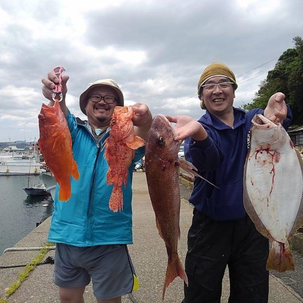 釣り船幸盛丸 釣果 2020/05/20「水」