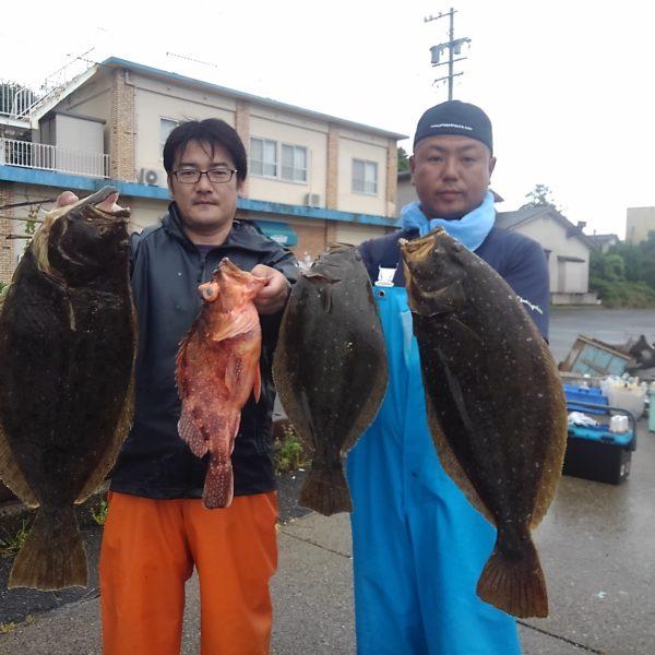 釣り船幸盛丸 釣果 2020/06/10「水」