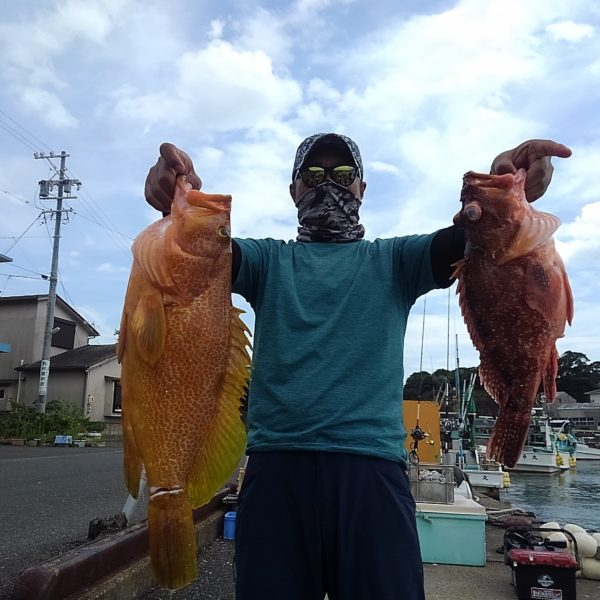 釣り船幸盛丸 釣果 2020/07/29「水」