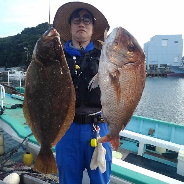 釣り船幸盛丸 釣果 2020/08/09「日」