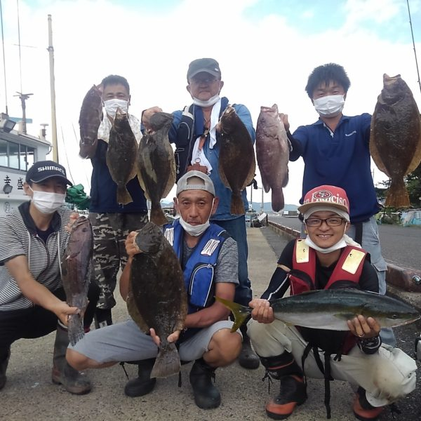 釣り船幸盛丸 釣果 2020/08/13「木」