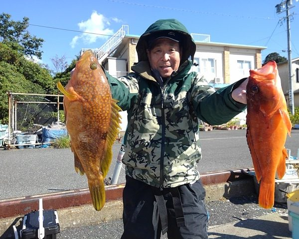 釣り船幸盛丸 釣果 2020/11/10「火」