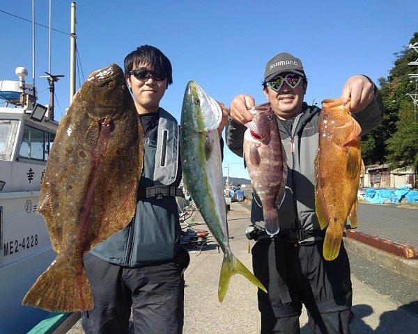 釣り船幸盛丸 釣果 2020/11/26「木」
