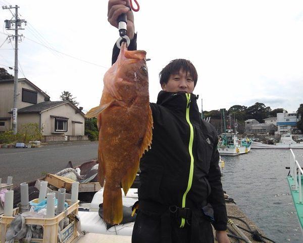 釣り船幸盛丸 釣果 2020/11/30「月」