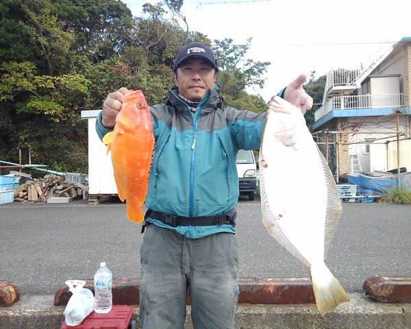 釣り船幸盛丸 釣果 2020/12/02「水」