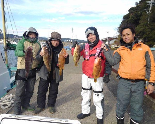釣り船幸盛丸 釣果 2020/12/18「金」