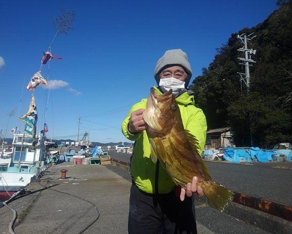 釣り船幸盛丸 釣果 2021/01/10「日」
