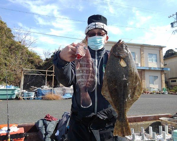 釣り船幸盛丸 釣果 2021/01/17「日」