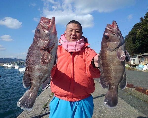 釣り船幸盛丸 釣果 2021/02/03「水」