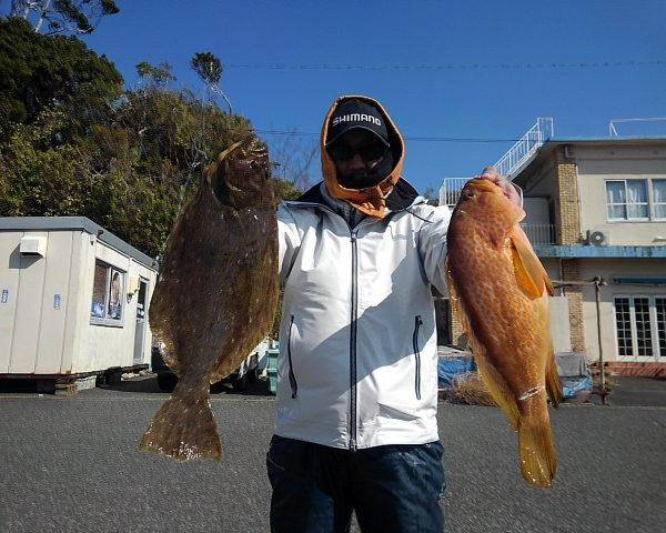 釣り船幸盛丸 釣果 2021/02/08「月」