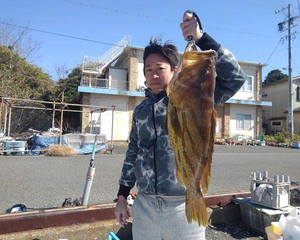 釣り船幸盛丸 釣果 2021/02/16「火」