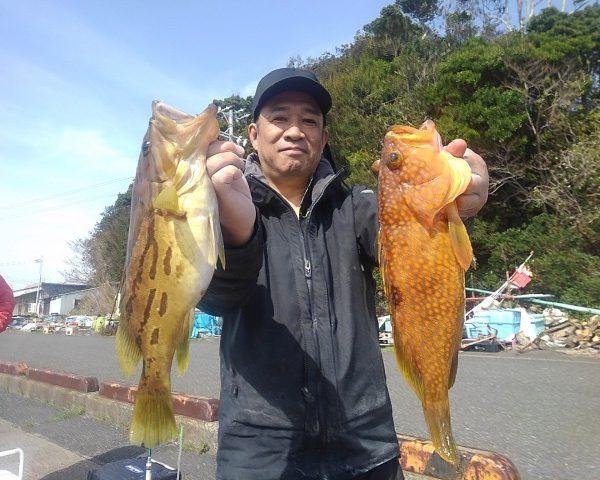 釣り船幸盛丸 釣果 2021/03/17「水」