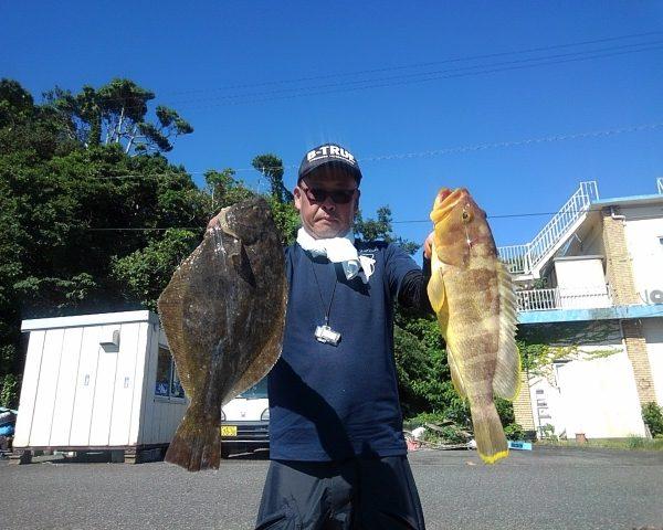釣り船幸盛丸 釣果 2021/07/21「水」