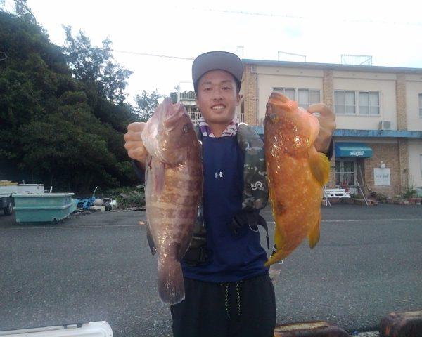 釣り船幸盛丸 釣果 2021/08/22「日」